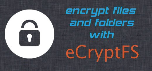 Encrypt files and folders with eCryptfs in Ubuntu/Debian