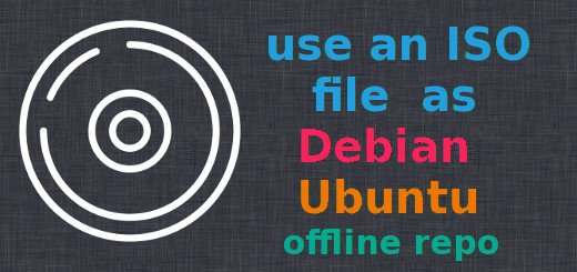 How to use an ISO file as offline repository in Debian