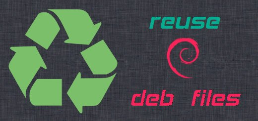How to reuse deb files to install software in many offline Ubuntu/Debian machines