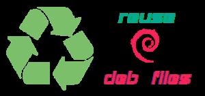 reuse deb files
