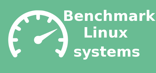 benchmark linux command with line tools