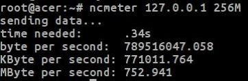 network benchmark linux ncmeter