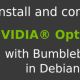 configure NVIDIA Optimus in Debian