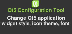 change qt5 style with qt5ct in Debian ubuntu mint