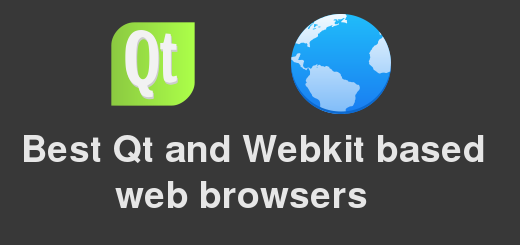 5 best Qt and Webkit based lightweight web browsers
