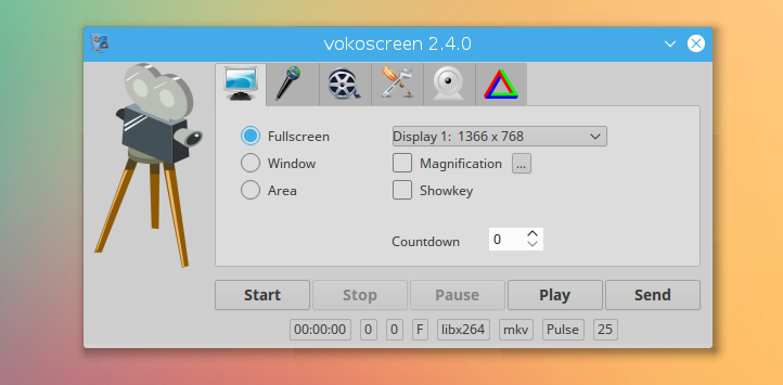 linux screen recorder vokoscreen