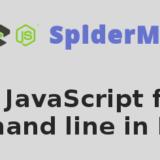 run javascript from command line