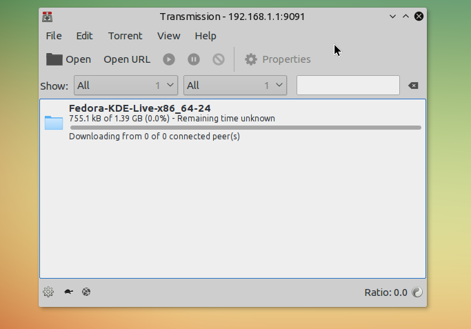 openwrt torrent RPC remote controll