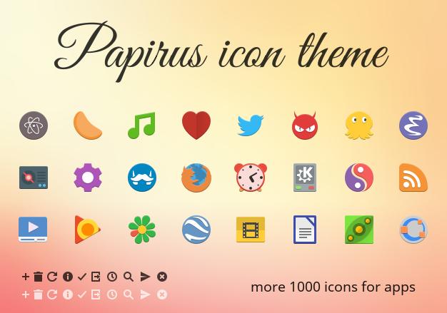 Papirus_kde_icons
