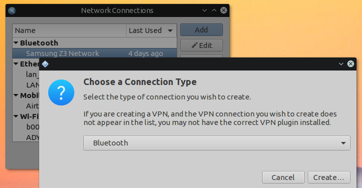 linux bluetooth networking