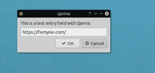 Qarma zenity alternative