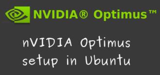 Ubuntu nVIDIA Optimus setup – Install bumblebee and nvidia drivers