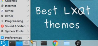 5 Best LXQt themes for a better desktop experience