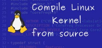 Easiest way to compile Linux kernel from source
