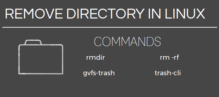 remove directory linux