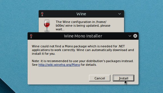 install wine ubuntu with run time dependencies