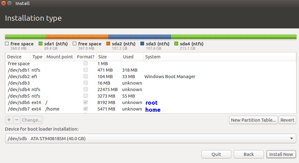 dual boot windows 10 and ubuntu
