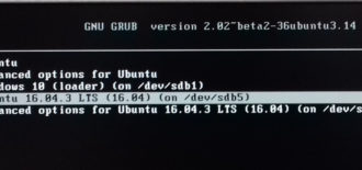 GRUB rescue on UEFI and legacy BIOS systems
