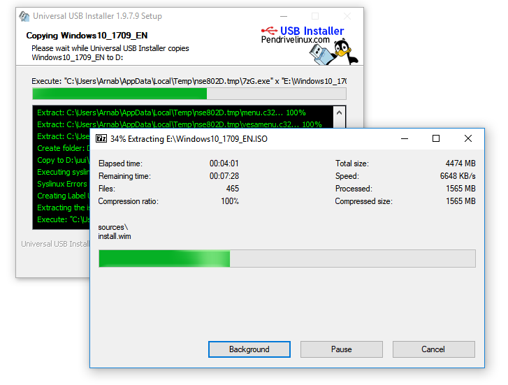 make bootable usb windows 10 with UUI