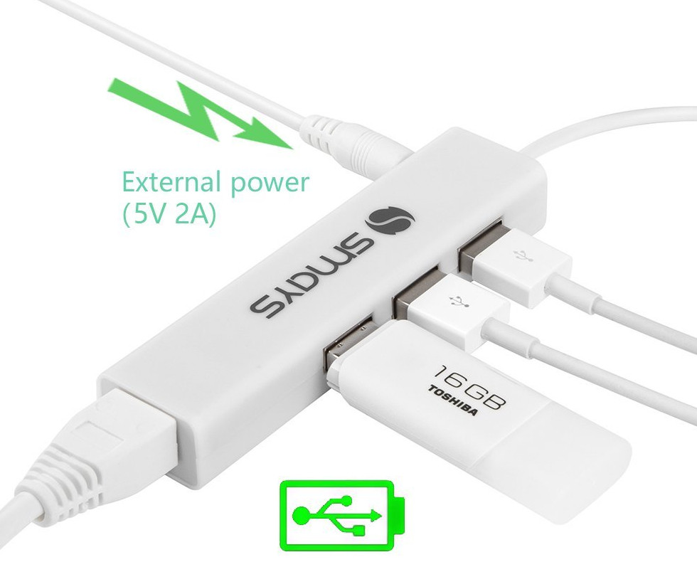 Smays micro usb to ethernet adapter