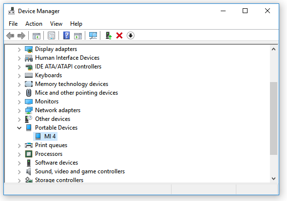 DRIVER FOR ACER PTP/MTP DEVICE