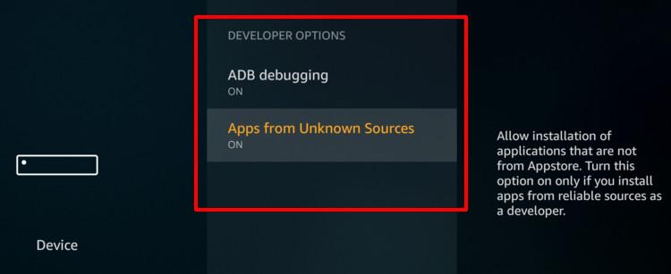 enable adb firestick