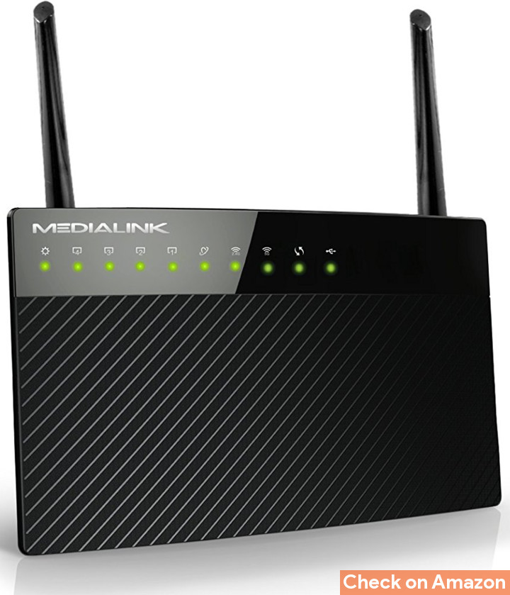 medialink dual band router