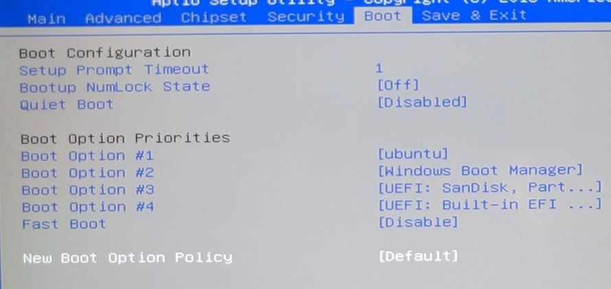 Uninstall Ubuntu from UEFI dual boot system without CD