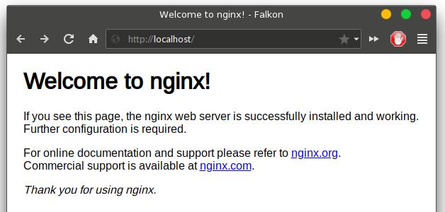 NGINX server on Ubuntu