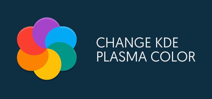 Change kde color schema command line